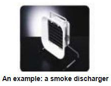 An example: a smoke discharger